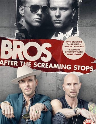 BROS After The Screaming Stops is a film documentary about BROS, a successful band from the 1980s