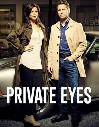 Private Eyes is a crime TV show about a professional hockey player turned detective