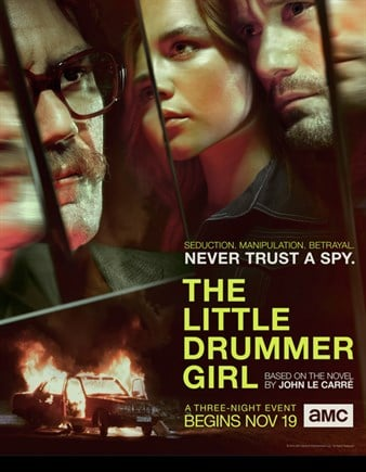The Little Drummer Girl is a miniseries about a love story broadcast on the BBC